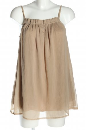 Sisters point Spaghettiträger Top creme Casual-Look