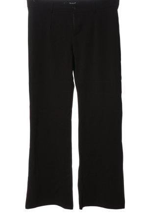 Sisters point Pantalon en jersey noir style décontracté