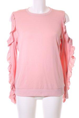 Sisters point Sweatshirt pink Business-Look