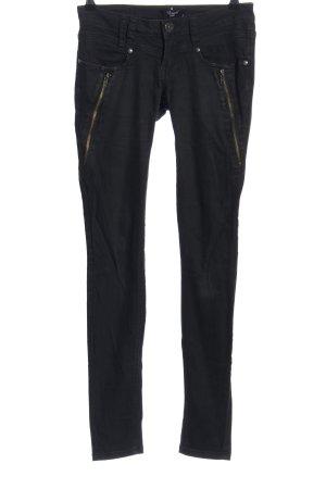 sisters Skinny Jeans schwarz Casual-Look