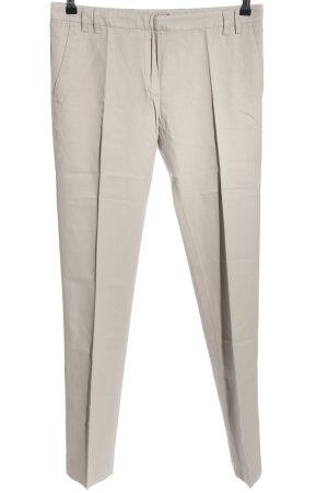 sita murt Pantalon à pinces gris clair style d'affaires