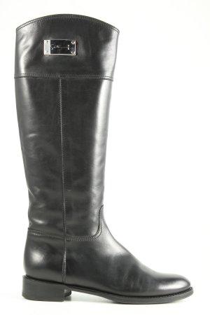 Siton Venezia Riding Boots black-silver-colored casual look