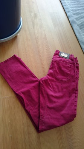 Siviglia Jeans slim rouge brique coton