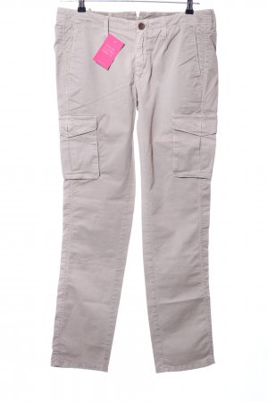 Siviglia White Cargo Pants light grey casual look