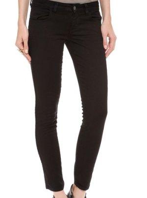 Siwy Pantalone cinque tasche nero