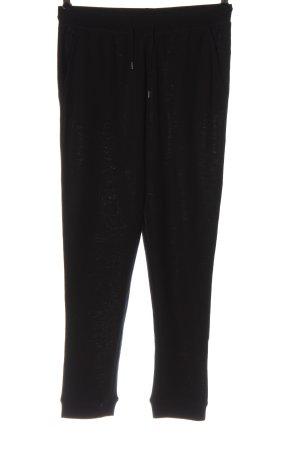 Six Ames Spodnie dresowe czarny W stylu casual