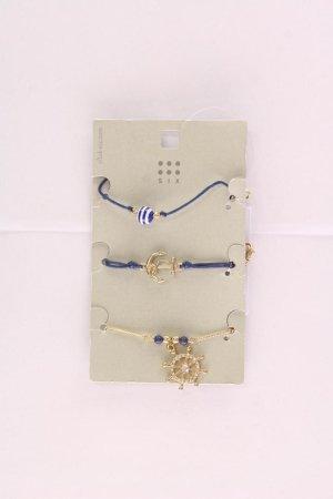 SIX Armband neu mit Etikett blau