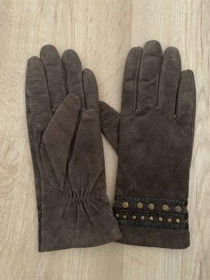 Six Rękawiczki skórzane Wielokolorowy