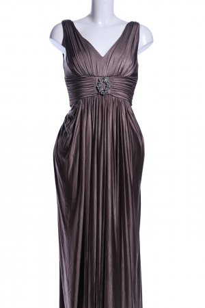 Sixth Sense Abendkleid braun extravaganter Stil