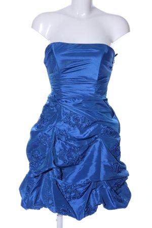 Sixth Sense Ballkleid blau Blumenmuster Elegant