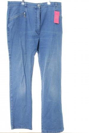 Sixth Sense Hoge taille jeans blauw casual uitstraling
