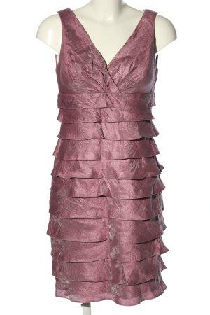 Sixth Sense Vestido estilo flounce rosa elegante