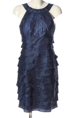 Sixth Sense Volantkleid blau Elegant