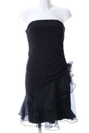 Sixth Sense schulterfreies Kleid schwarz Elegant