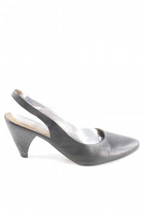 Sixth Sense Slingback Pumps black casual look