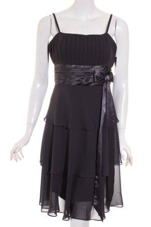 Sixth Sense Trägerkleid schwarz Elegant