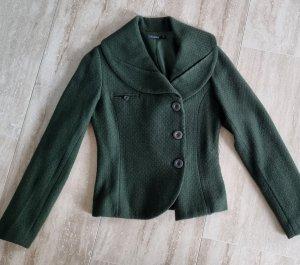 B.young Veste courte vert foncé laine