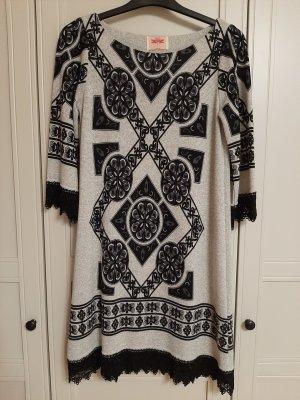 RN Design Woolen Dress multicolored