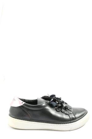 sixty seven Sneaker slip-on nero-argento stile casual