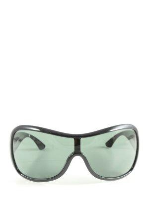 SJP x sunglass hut Ovale zonnebril zwart casual uitstraling