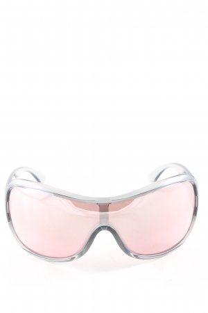 Oval Sunglasses silver-colored casual look