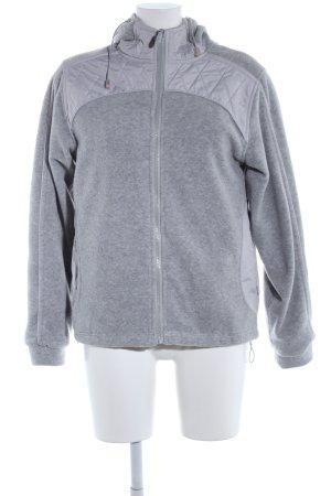 Veste d'extérieur gris clair moucheté style décontracté
