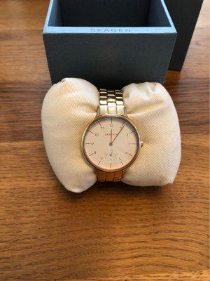 SKAGEN Armbanduhr Damenuhr Gold -neu-