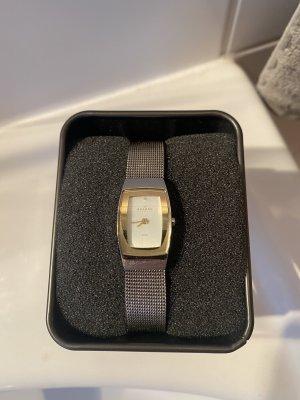 Skagen Armbanduhr Gold Silber