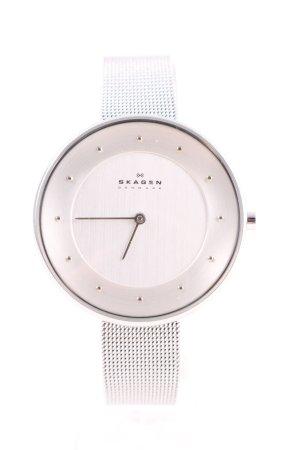 Skagen Zegarek automatyczny srebrny W stylu biznesowym
