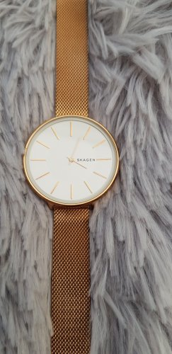 Skagen Damen-Armbanduhr, rosegold