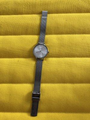 Skagen Damen Uhr Anita SKW2149 Silber Analog Rund Quarz Milanaiseband