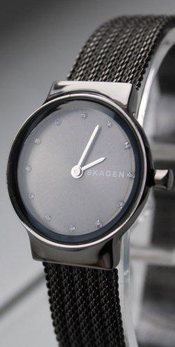 Skagen Reloj con pulsera metálica negro