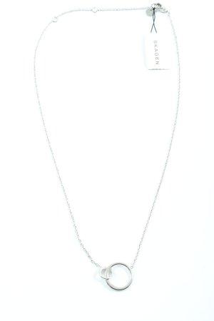 Skagen Halskette silberfarben Elegant