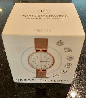 Skagen hybrid Smartwatch, Rosegold, neue Batterie