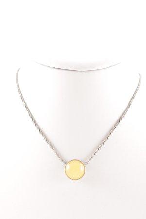 Skagen Silberkette goldorange-silberfarben Casual-Look