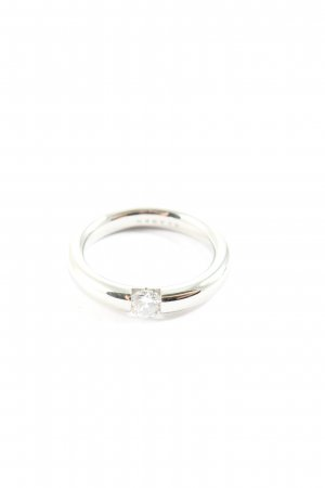 Skagen Statement Ring silver-colored business style