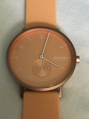 Skagen Self-Winding Watch apricot metal