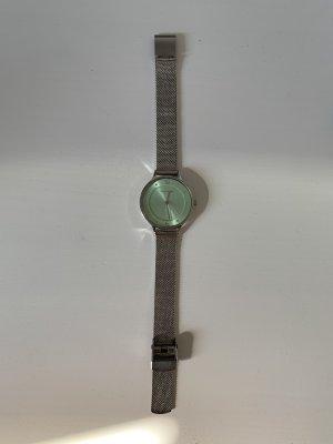 Skagen Uhr Mingrün Silber