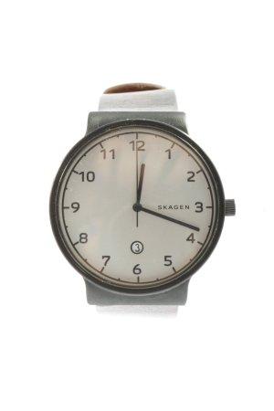 Skagen Uhr mit Lederarmband braun Business-Look