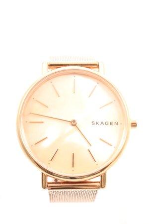 Skagen Reloj con pulsera metálica color oro look casual