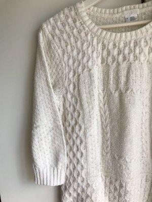 Urban Outfitters Maglione intrecciato bianco sporco-crema