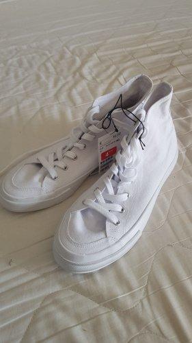 H&M Skater Shoes white mixture fibre