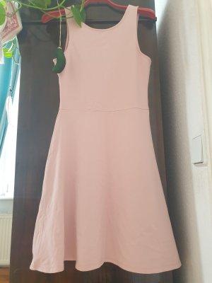 Even & Odd Sukienka dresowa w kolorze różowego złota