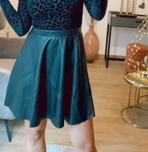 Boutique Comtesse Skórzana spódnica czarny