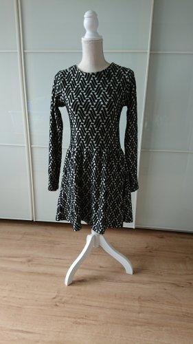 Second Female Sukienka dresowa biały-czarny