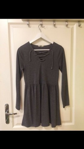Brave Soul Babydoll Dress grey