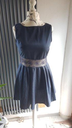 AX Paris A Line Dress dark blue-blue