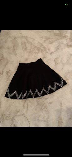 Atmosphere Skaterska spódnica czarny-biały
