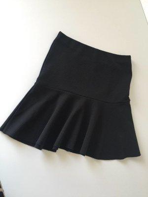 Zara Skaterska spódnica czarny