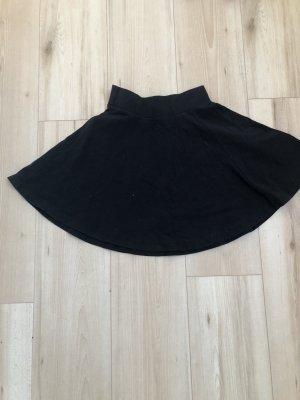 Ohne Skaterska spódnica czarny